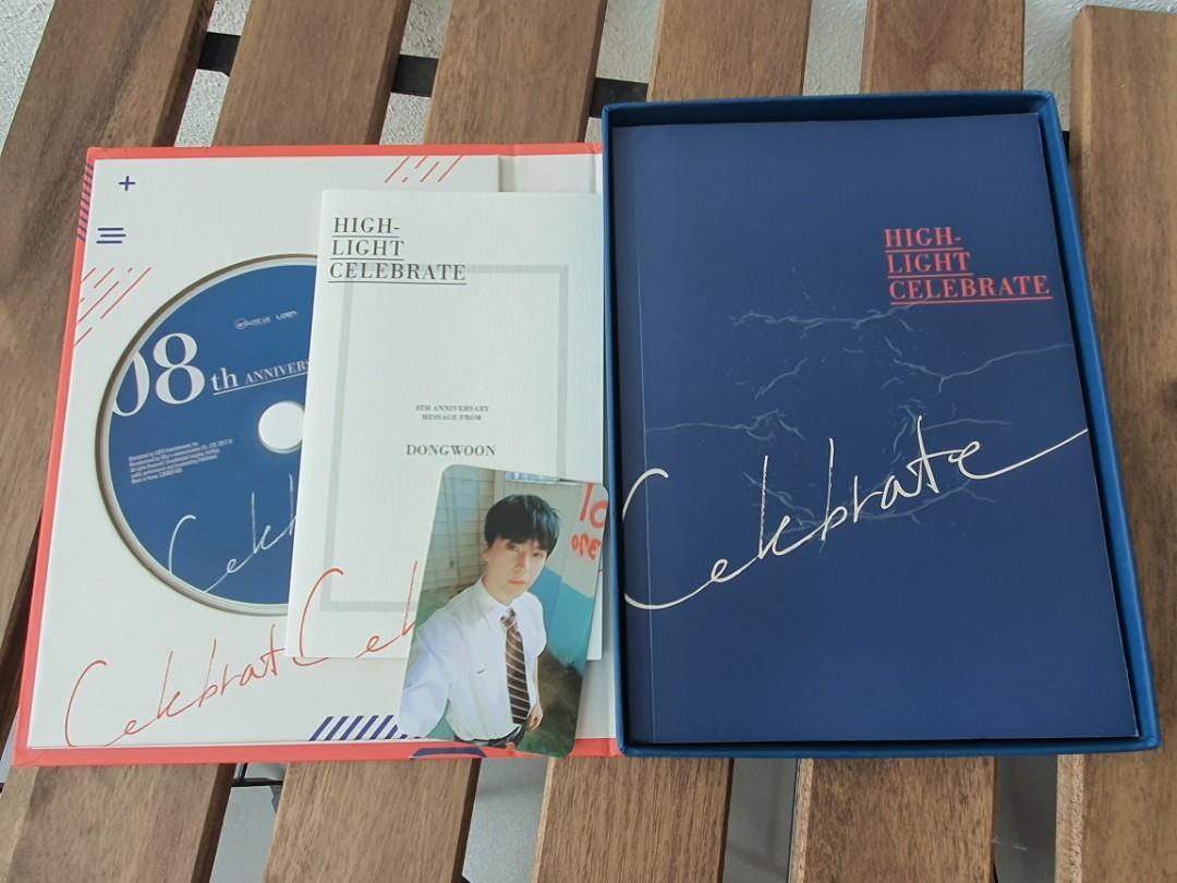 HIGHLIGHT 2nd Mini Album : CELEBRATE (Version B) *DW mc+pc