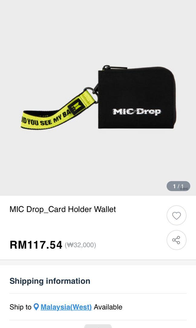 LOOKING FOR PEOPLE WHO WANT TO BUY BTS MIC DROP MERCH AND SHARE SHIPPING WITH ME