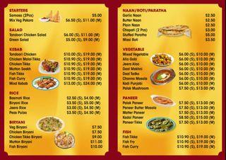 North Indian food @ Beautiword Center 04_64, For take away & home delivery call 91058451