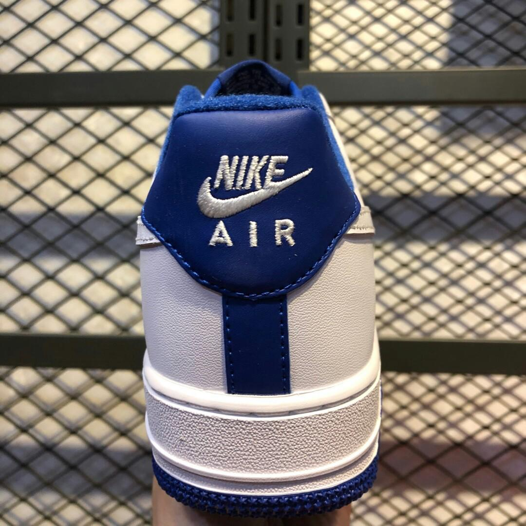 Original Nike air force low white deep royal white Air Force React Element CD - SIZE Air Force navy blue and two co
