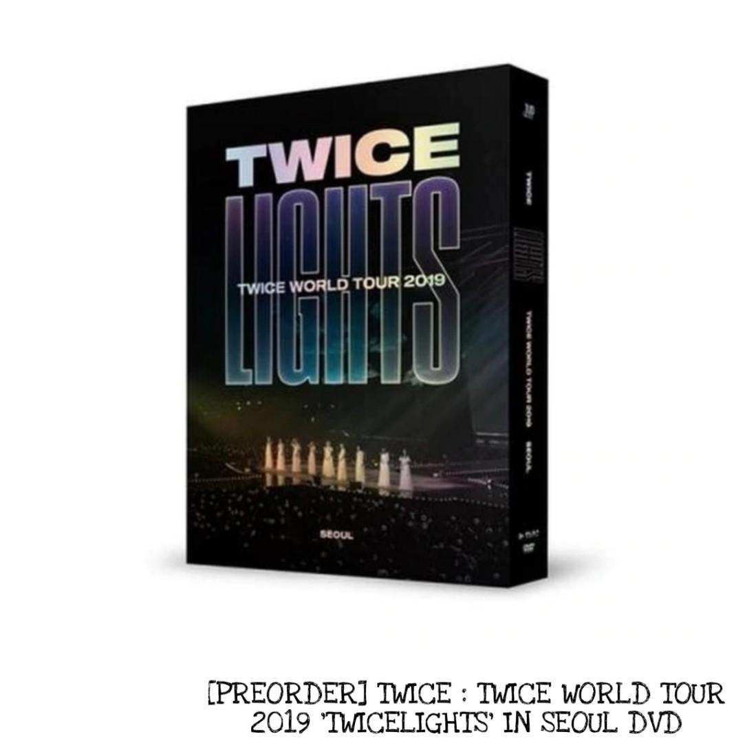 [PREORDER] TWICE : TWICE WORLD TOUR 2019 'TWICELIGHTS' IN SEOUL DVD