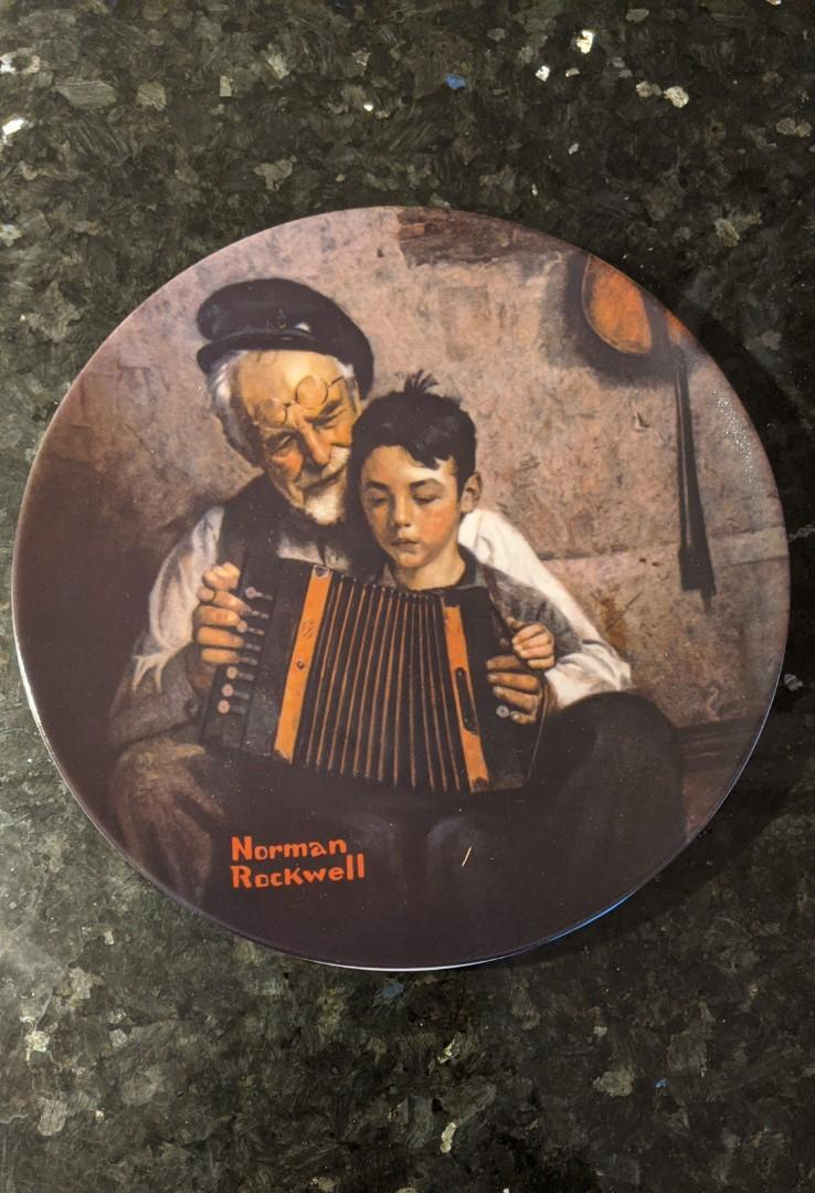 The Music Maker Limited Edition Collector Plate Limited Edition