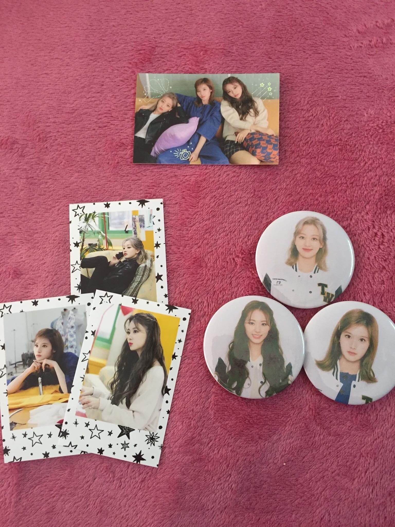 Twice University Sana Tzuyu Jihyo Special Photocard