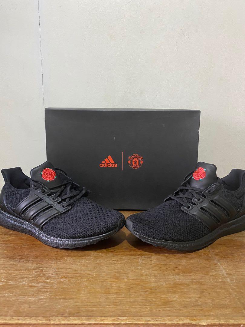 Ultraboost Manchester United Ltd Edition Men S Fashion Footwear Sneakers On Carousell