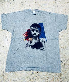 Vintage Les Miserables Tshirt