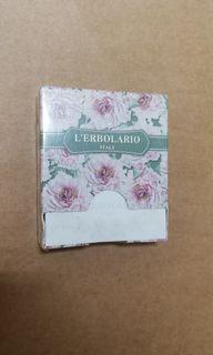 義大利居家雷莉歐生活保養品牌小碎花便條紙