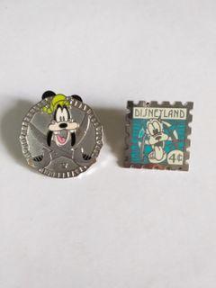 (包郵) Disney pin goofy pins廸士尼徽章 襟章