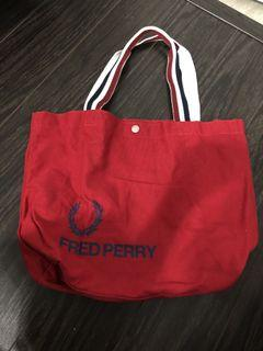 Fred Perry cloth bag