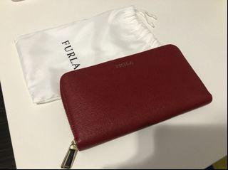 Furla zip round wallet