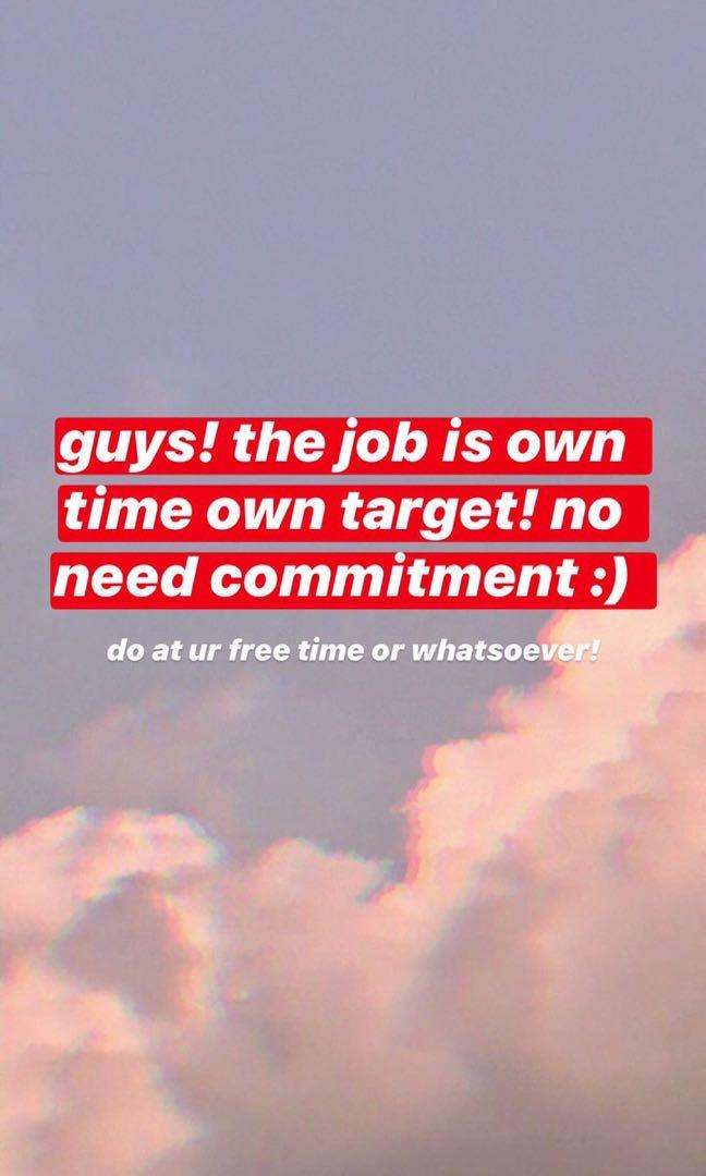 EASY ONLINE JOB  *own time own pace* *NO COMMITMENT*