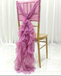 Gorgeous Wedding Chair Sash
