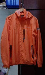 Jaket Hoodie Keren warna Orange