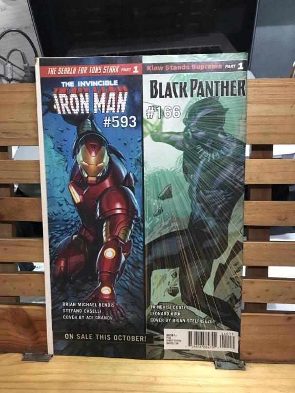 Marvel Spotlight Previews Iron Man Black Panther Hulk Star Wars Comics set of 2