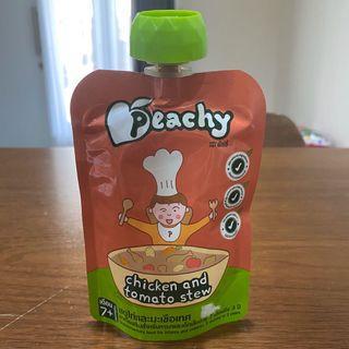 Peachy Puree 7m+ & 12m+