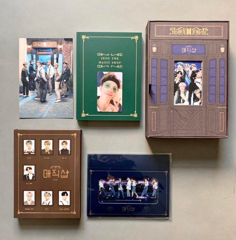 (Ready Stock) BTS 5TH MUSTER [MAGIC SHOP] DVD 출시 안내 - without Photocard