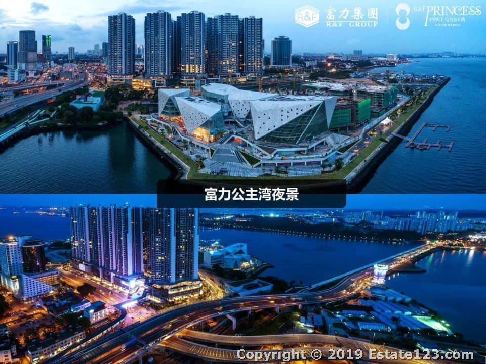Transport SG to R&F Princess Cove