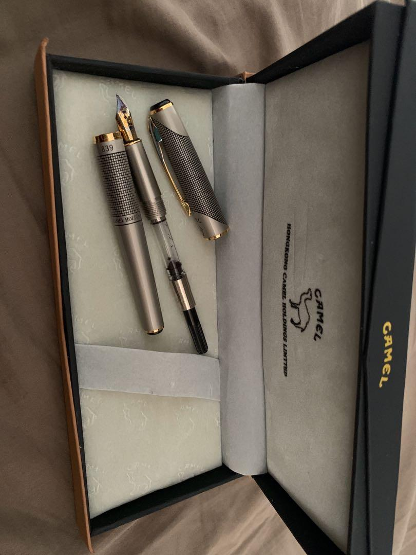 Used camel Hong Kong holdings limited calligraphy pen