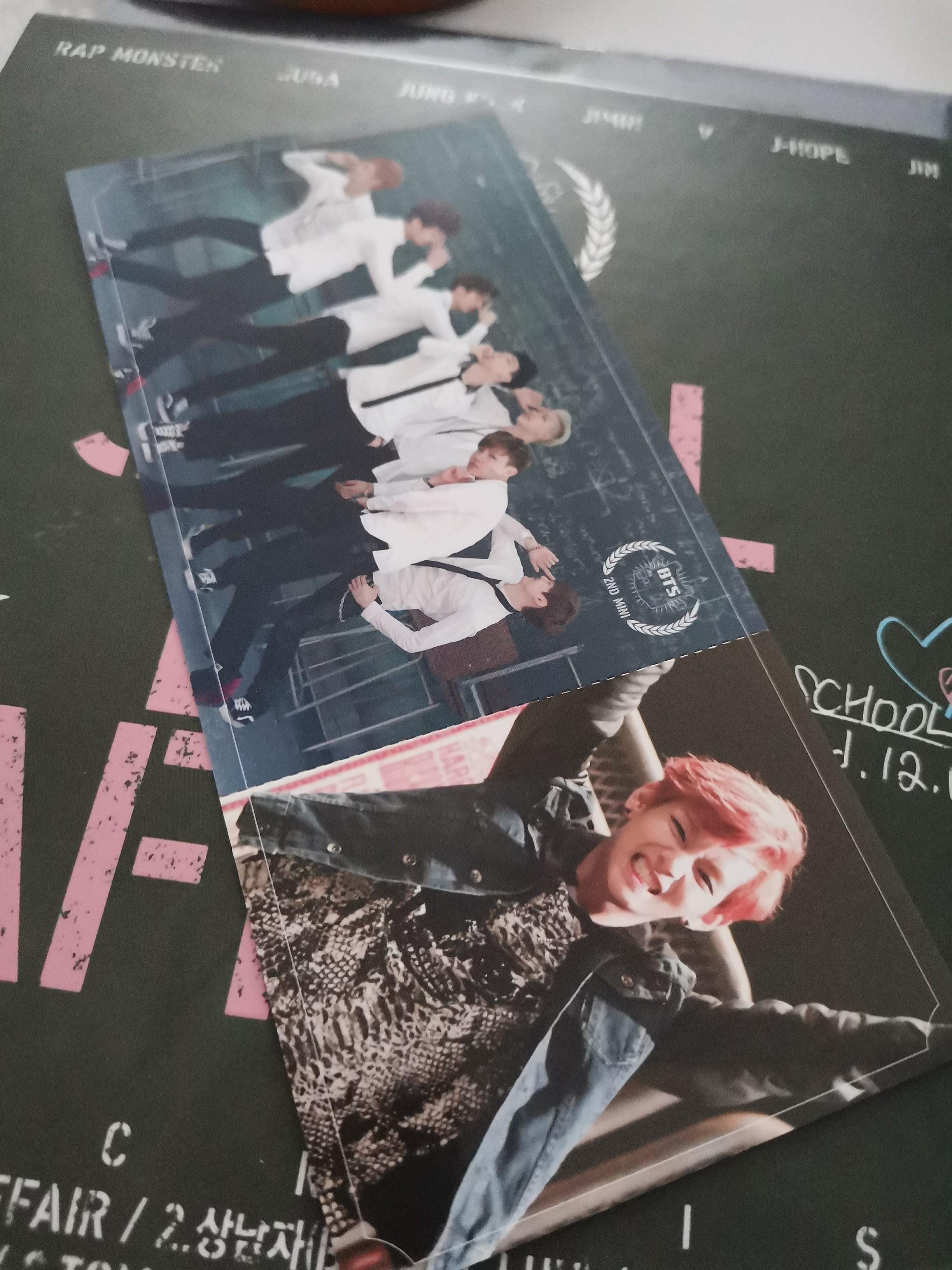 (WTT ONLY) Skool Luv Affair Taehyung V pc Photocard
