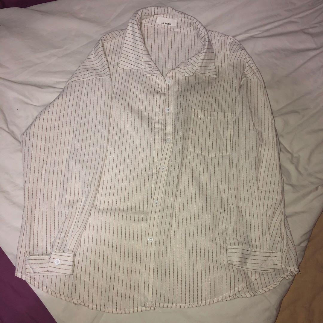 Yesstyle long sleeve button up