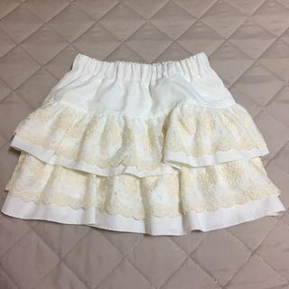 氣質風拼接蛋糕褲裙 #2020春夏