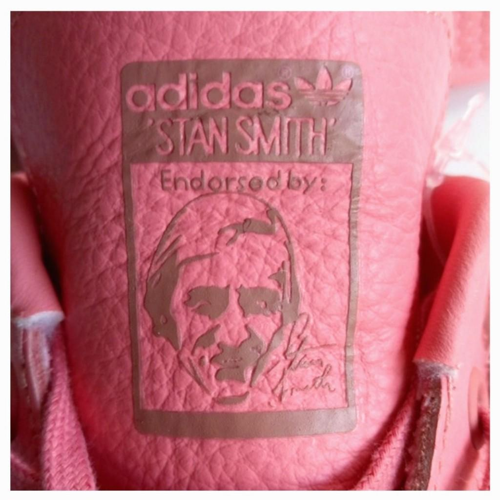 Adidas Women US 7 Pink Leather Lace-Up Sneakers NEW