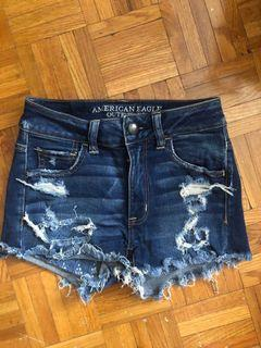 AE shorts size 0