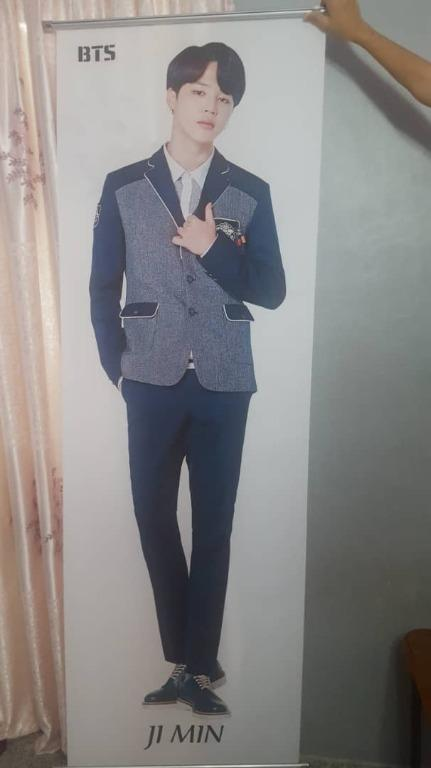 [READY STOCK] Unofficial BTS JIMIN Life Size Poster (x 1)