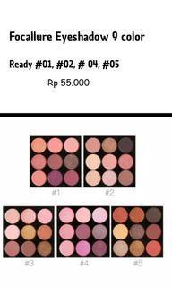 Eyeshadow Focallure 9 color