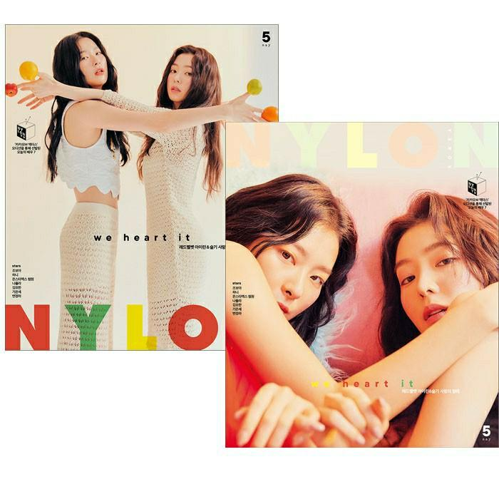 (FREE POSTAGE) NYLON KOREA MAGAZINE MAY (05/2020- RED VELVET IRENE & SEULGI)