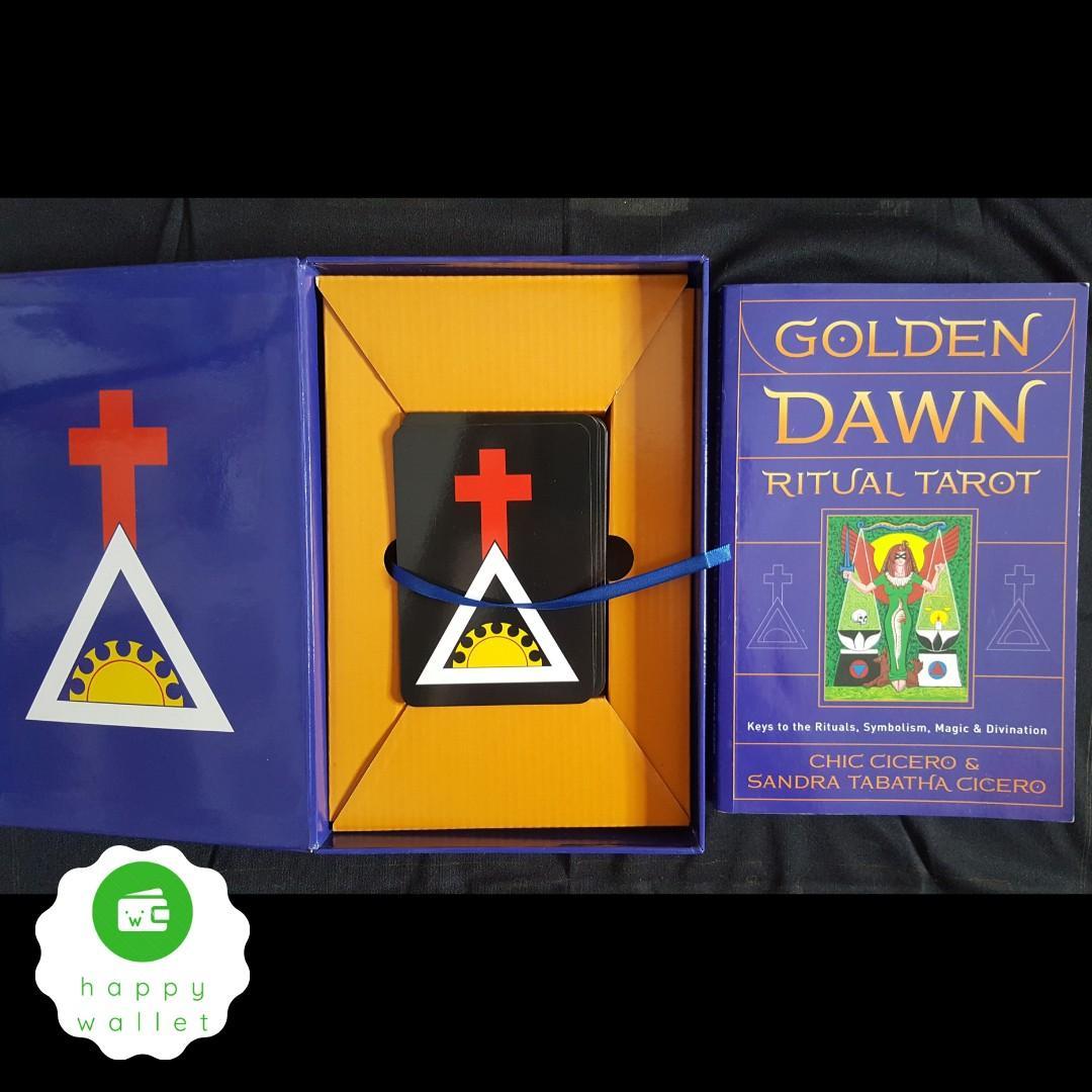 ORIGINAL Golden Dawn Ritual Tarot Oracle Card Deck Kabbalah Astrology Esoteric Witch