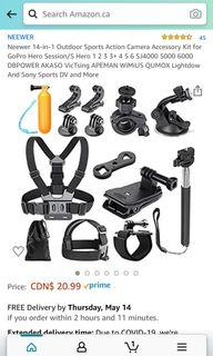 GoPro Hero Accessories - Brand New