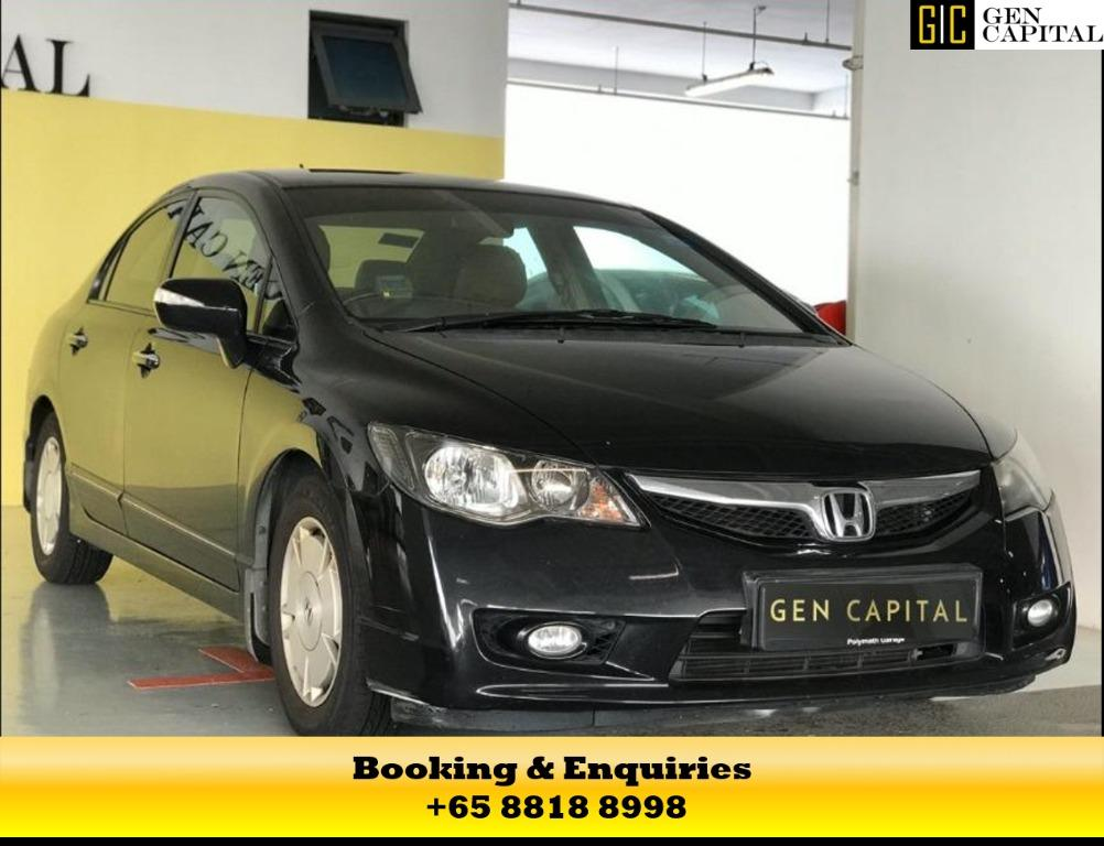 Hybrid Honda Civic - 50% off the Circuit Breaker Promotion! While stock last! Contact Megan now at 8818 8998