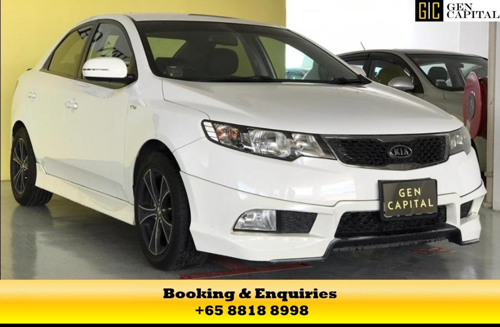 Kia Cerato - 50% off during circuit breaker period! Super mega saving! Drive away at $500 only. Whatsapp me at 8818 8998!