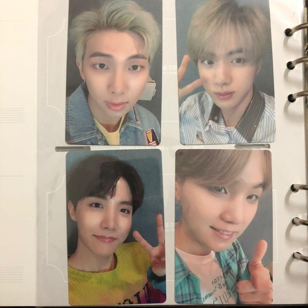 ‼️PRICE REDUCED‼️ BTS OFFICIAL LIGHTS JAPAN PHOTOCARD