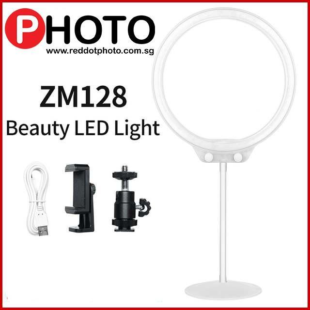 Zomei ZM128 LED Ring Light 3200K-5500K Camera Photo Dimmable