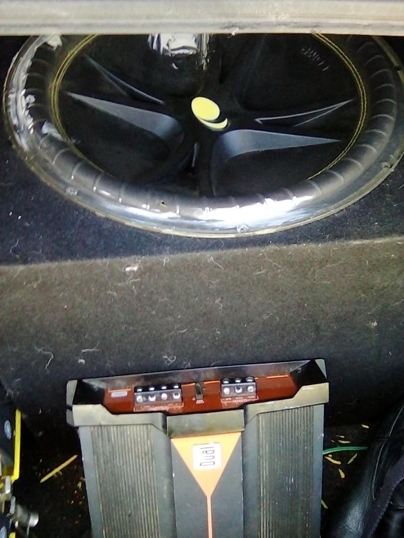 15 inch compition kicker sub &amp