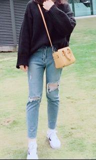 韓國🇰🇷刷破牛仔褲