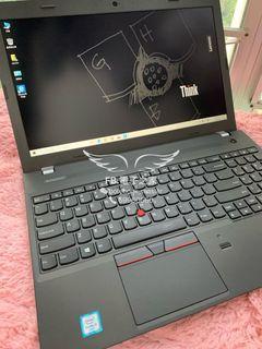 (超級新淨, 新款6代)滑嘟嘟lenovo 15.6寸 i3 6100 /4,8gb ram/ssd手提電腦/商務機/耐用薄款機身 /DVD/E560 thinkpad