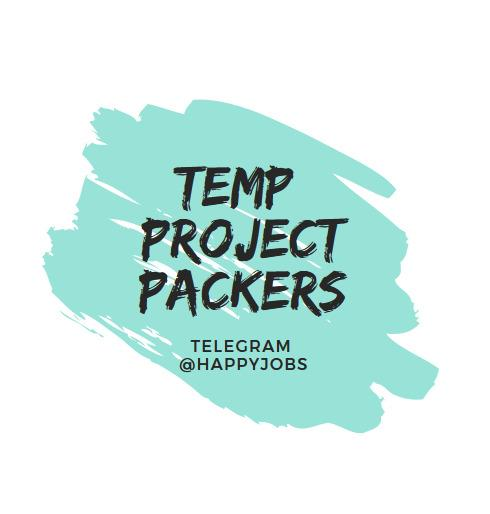 ⭐️ Temp Project Packers @ Jurong East ⭐️ 24 Apr to 30 Apr ⭐️