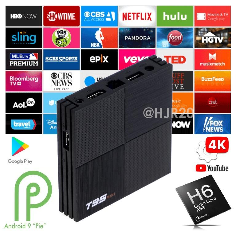 Android Tv Box Live Channels Tv Box Android 9 Tv Box Tv Home Appliances Tv Entertainment Media Streamers Hubs On Carousell