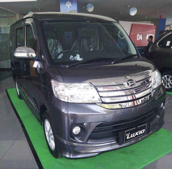ANGSURAN RINGAN Daihatsu Luxio mulai 4 jutaan. Daihatsu Fatmawati