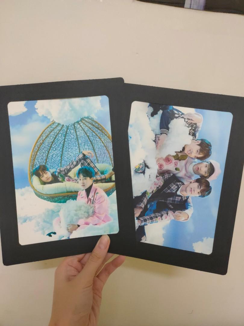 BTS 2017 The Wings Tour Trilogy Goods - Photo frame