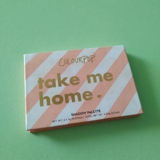 Colourpop take me Home#我愛地球