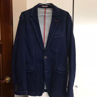 日本Edwin西裝外套 牛仔西裝外套