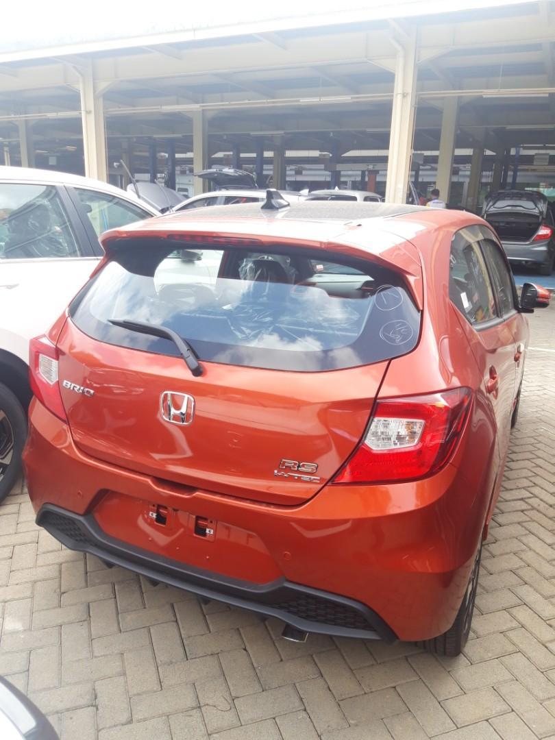 Honda Brio Rs cvt free jasa service 4 tahun hingga 50 rb km cashback besar!