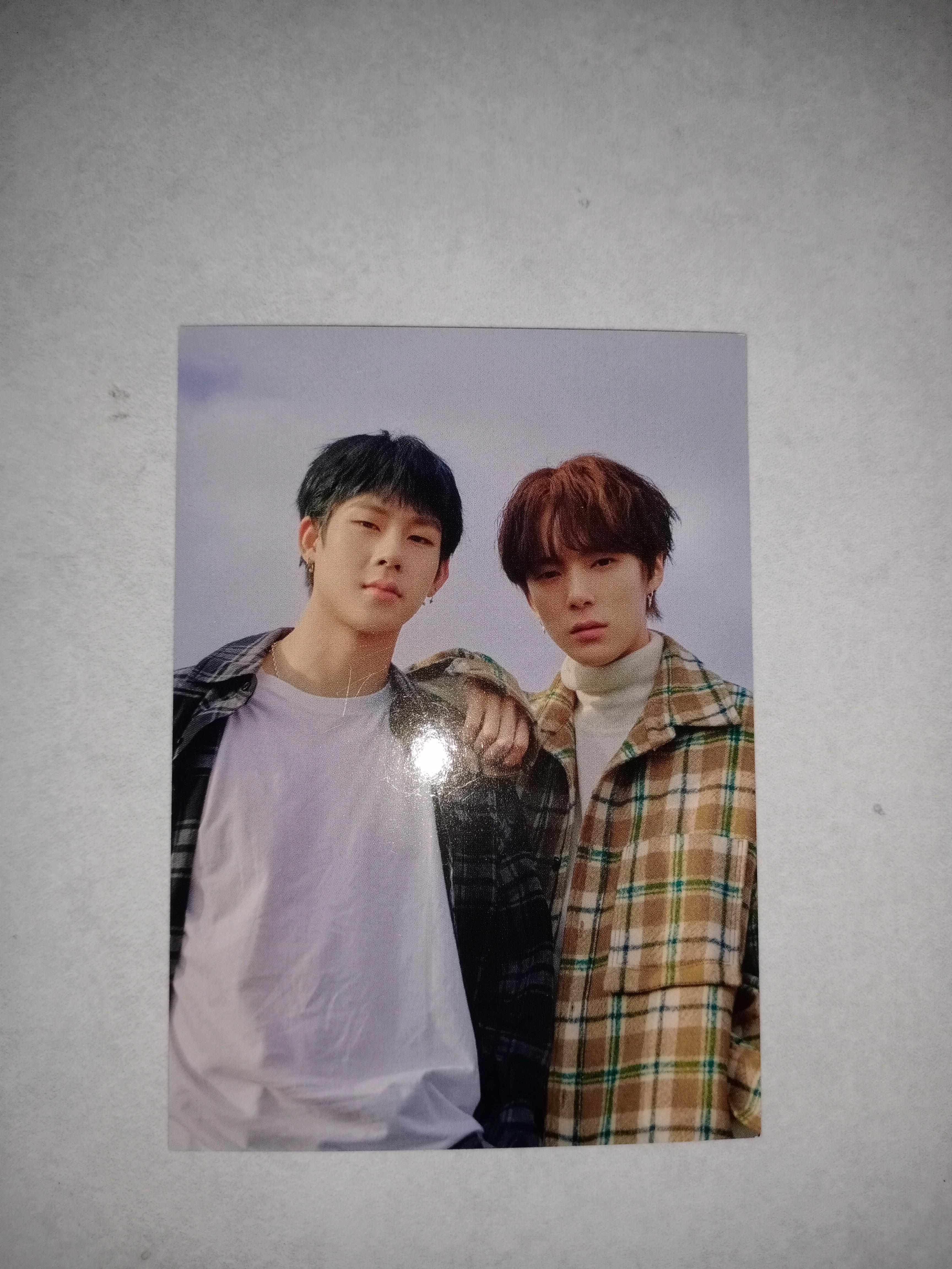 MONSTA X MINHYUK & JOOHEON OFFICIAL PHOTOCARD+POSTCARD