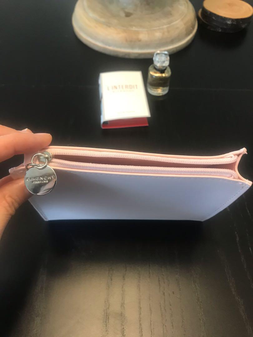 New Givenchy L'Interdit Perfume and Makeup Bag Set
