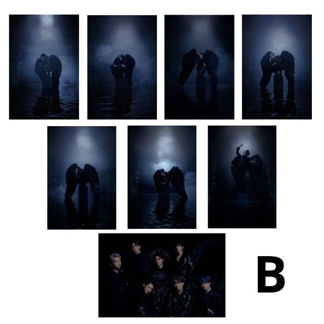 [READYSTOCK]BTS MOTS 7 Member:8pcs HD Photocard/Sticker