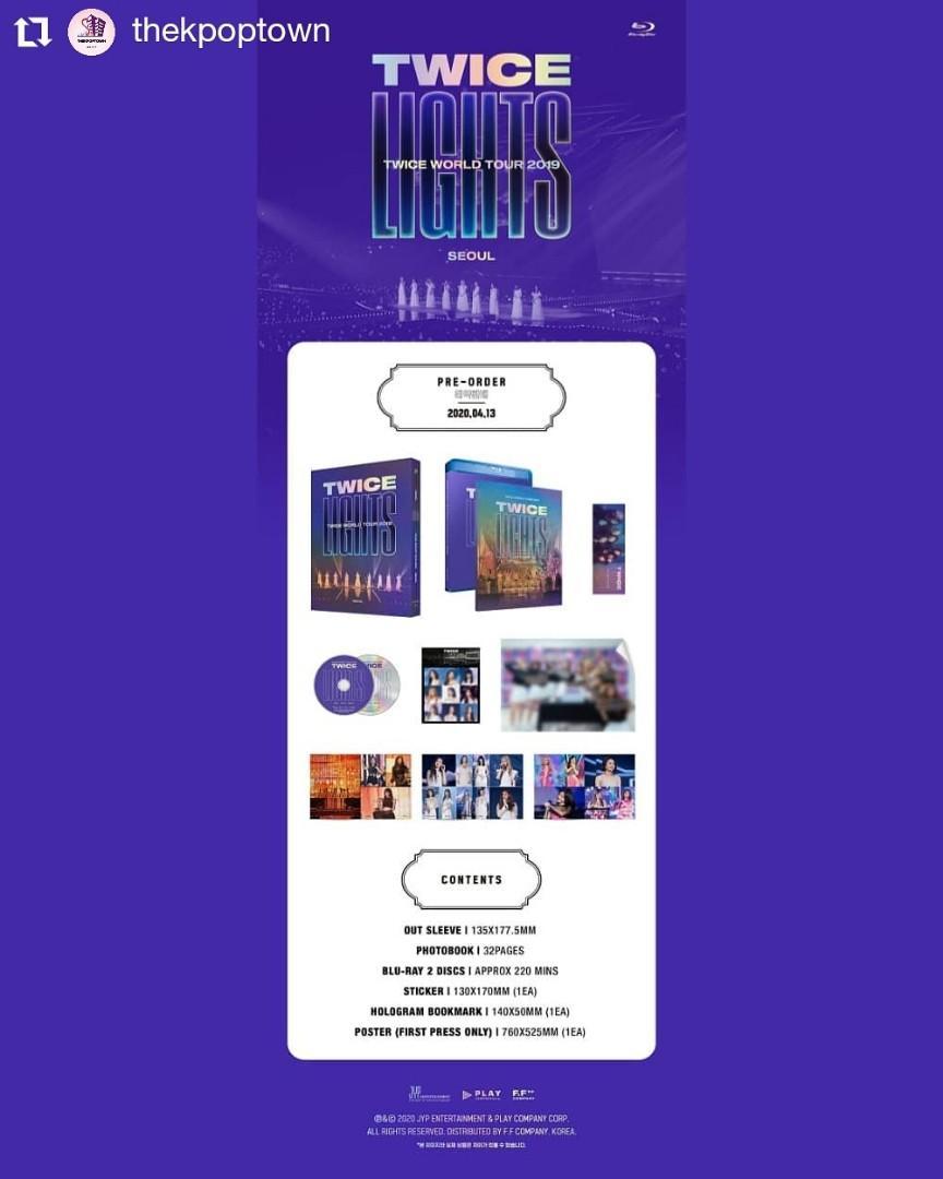 TWICE WORLD TOUR 2019 'TWICELIGHTS' IN SEOUL Blu-ray