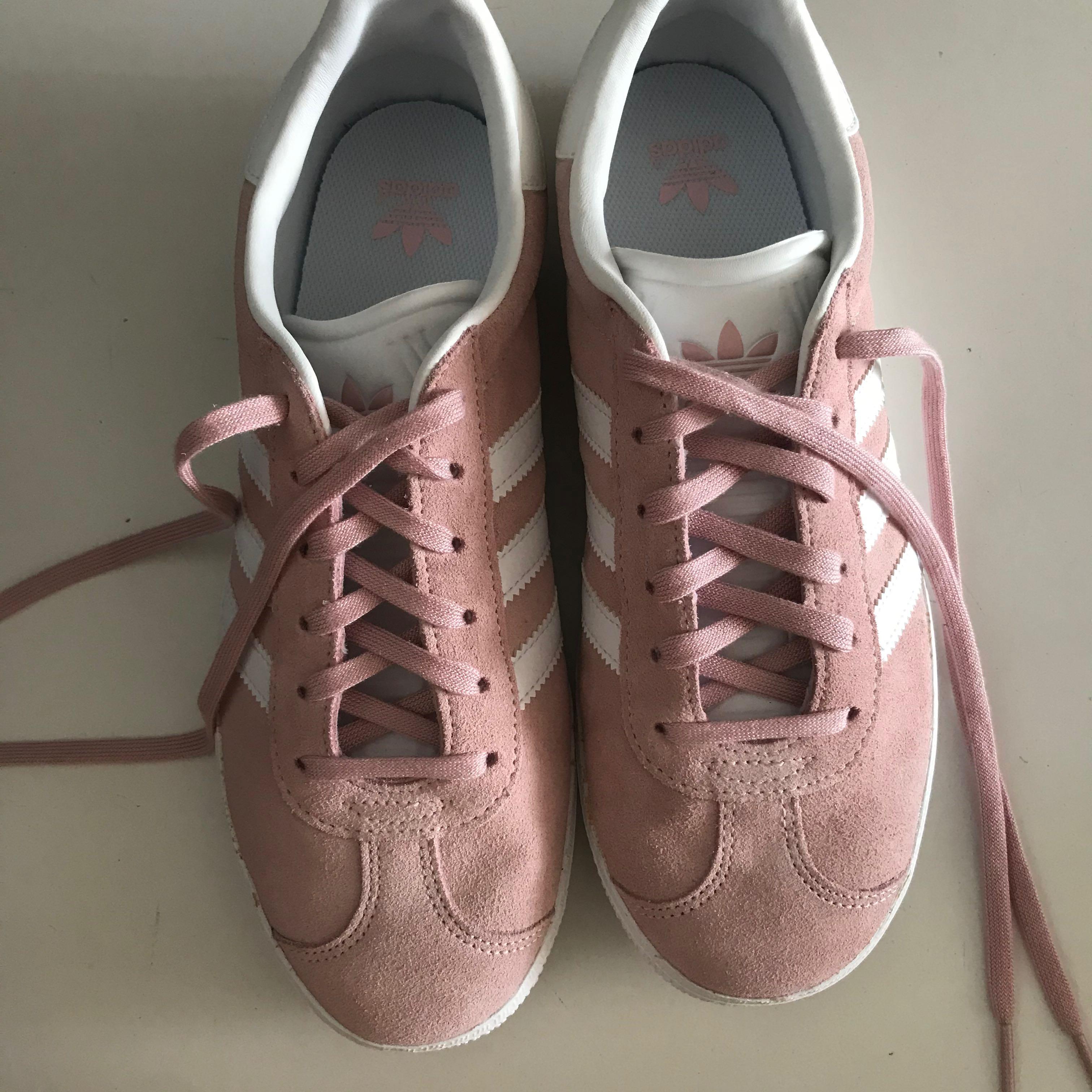 adidas gazelle blush pink, Women's